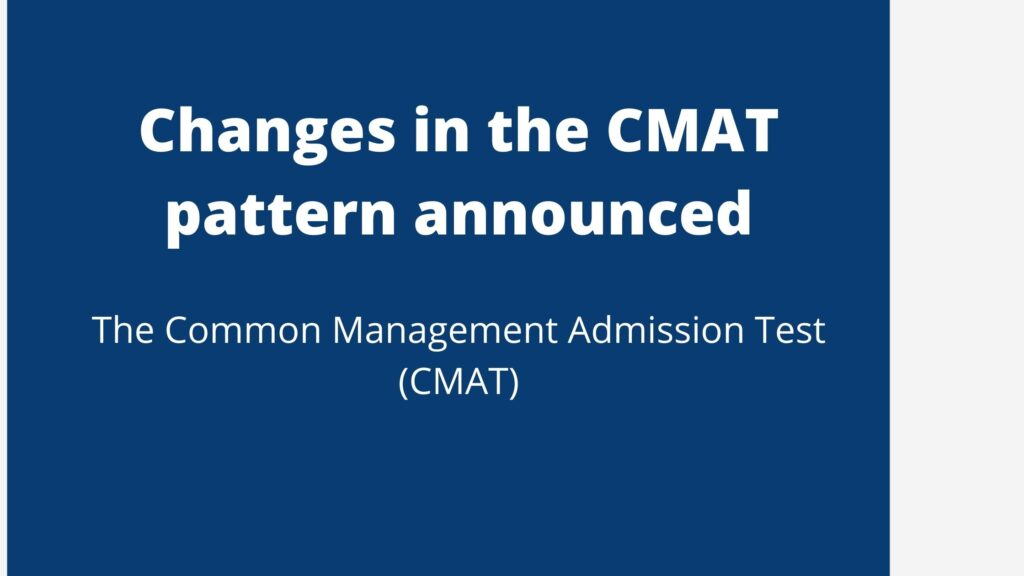 Changes in the CMAT pattern announced