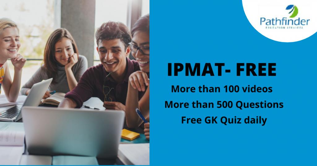 IPMAT Free Preparation