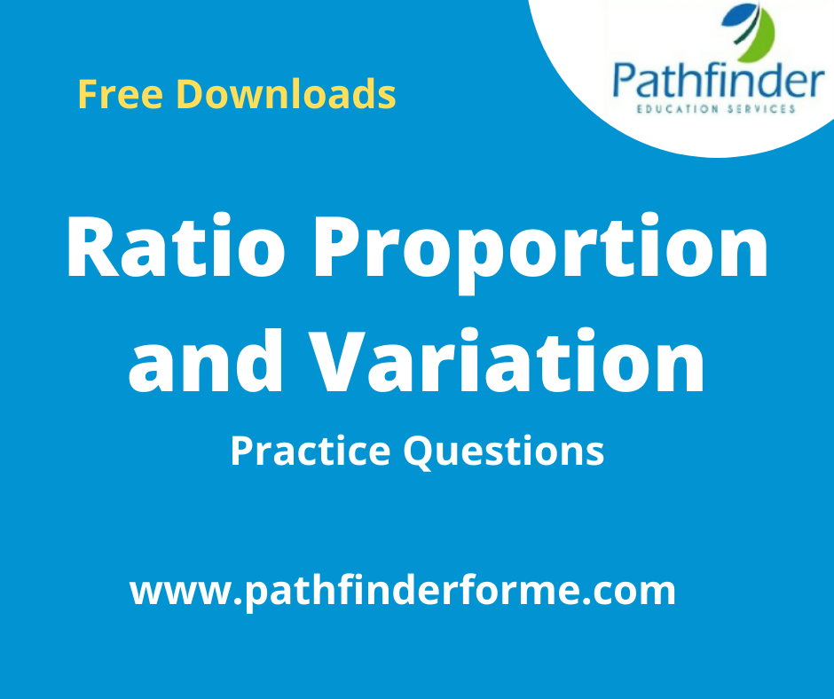 Ratio, Proportion and Variation